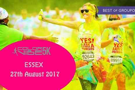 Color Vibe - One early bird ticket to the Color Vibe 5K Fun Run on Sunday 27 August - Save 17%