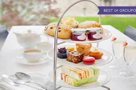 Hilton York - Traditional or Vegetarian Afternoon Tea with an Optional Glass of Bubbly for Two or Four - Save 44%