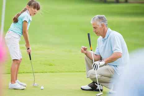 KJ Golf Academy - Four 45 Minute Junior Golf Lessons - Save 43%