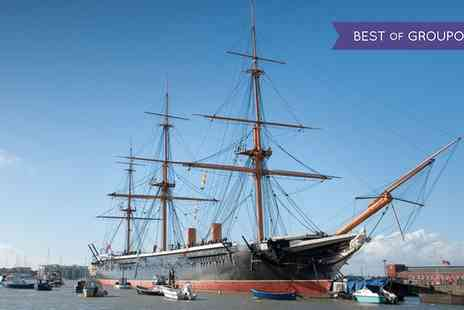 Portsmouth Historic Dockyard - One Year Entry to Portsmouth Historic Dockyard for Child, Adult or a Family of Up to Four - Save 38%