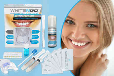 DVA Beautique - WhiteNGo Total 3 D teeth whitening combo kit - Save 88%