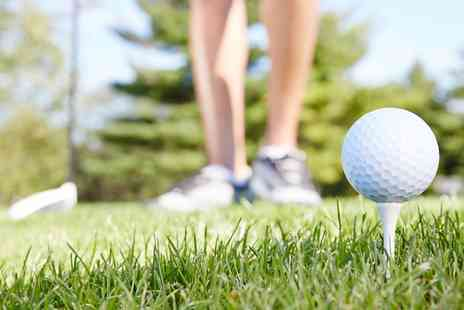 Dyffryn Clwyd Footgolf Centre - Two One Hour Golf Lessons with Pga Pro for One or Two - Save 0%
