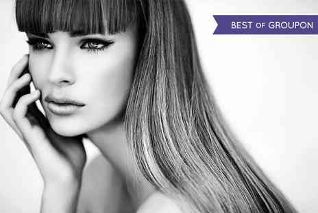 Shine Hair & Beauty - Cut and Blow Dry with Conditioning Treatment and Optional Half Head Highlights - Save 40%