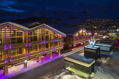 W Verbier - Five Star 7 nights Stay in a Fabulous Room - Save 68%
