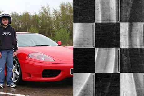 into the blue - Ferrari Driving Experience For Teens - Save 0%