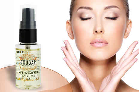 Cougar Beauty Products - Co Enzyme Q10 and Hyaluronic Acid Facial Oil - Save 79%