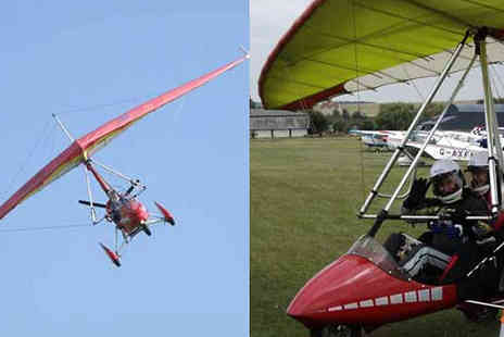 Into The Blue - Microlight Flying Experience - Save 0%