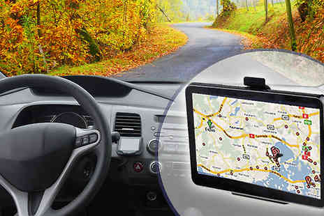 Metallic Turtle - GPS Entertainment Sat Nav EU and UK Maps in 4.3 Inch Touchscreen - Save 70%