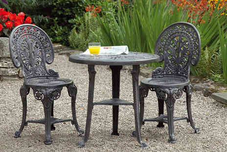 Gablemere - Wenlock Three Piece Garden Bistro Set - Save 0%