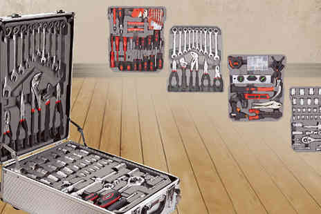Fastline Importers - 209 Piece Tool Box with Trolley Case - Save 45%