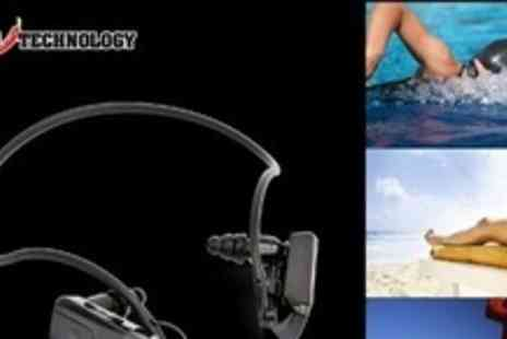 Chilli Technology - Waterproof MP3 Player and Integrated Headphones - Save 63%