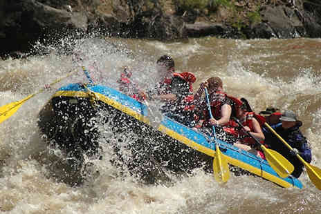 into the blue - Two Hour White Water Rafting Experience For 1 To 6 People - Save 0%