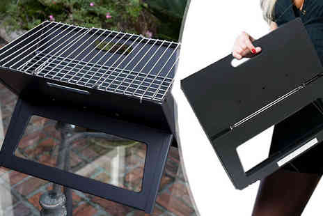 Funky Buys - 18 Inch Portable Folding Travel Grill - Save 50%