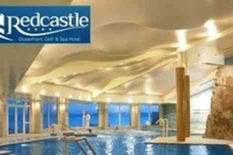 The Redcastle Hotel - In Donegal Two Night Seaside Break For Two With Breakfast, One Round of Golf and One Spa Treatment - Save 64%
