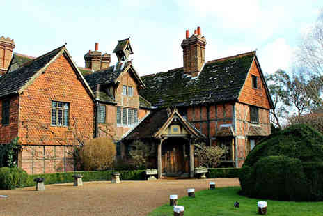 Langshott Manor - Four Star One Night Stay Luxury Manor House for Two - Save 0%