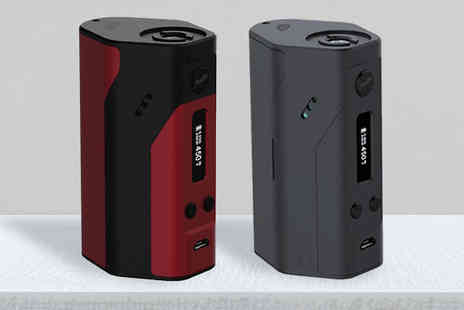 gohooka - WISMEC 200W Electronic cigarette Box Mod Available in Red or Black - Save 56%