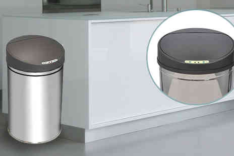 BuyBay - Motion Sensor Rubbish Bin - Save 64%