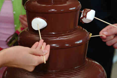 The PhotoBooth Club - Three Hour Chocolate Fountain Hire For 50 Guests - Save 0%