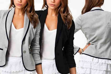 Bazaar me - Formal Blazer Two Colours - Save 71%