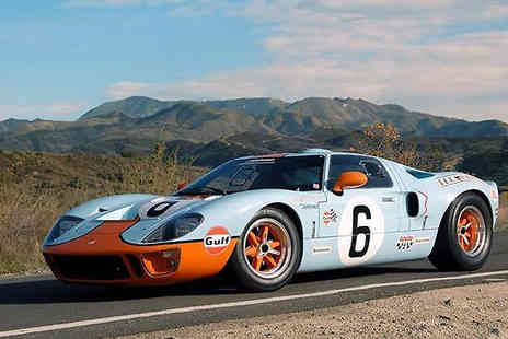 Blendini MS - 3, 6 or 9 Driving Laps in a Ford GT40 - Save 0%