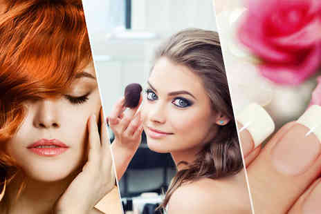 International Open Academy - Beauty Course Bundle  Hair, Make Up or Nails  or All 3 - Save 94%