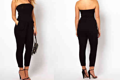 Bonicaro Design - Strapless Jumpsuit in 2 Sizes - Save 85%