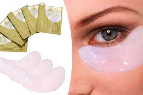 Richardson Group - 40 Hyaluronic Collagen Eye Masks - Save 90%