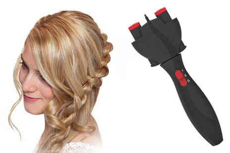 H&C Electronics - Automatic Hair Braider - Save 55%