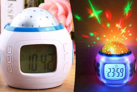Affinity International - Star Clock Night Light - Save 75%