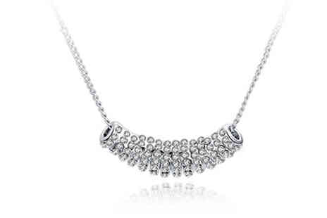 Trendy Banana - Swarovski Elements Necklace - Save 78%