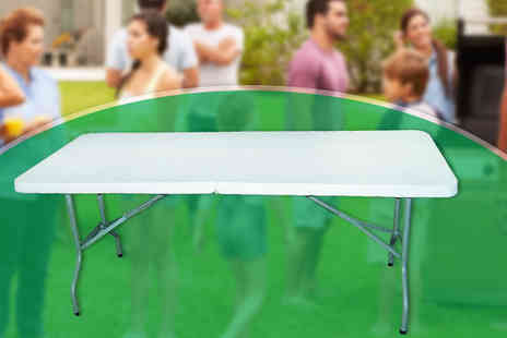UK Home and Garden Store - 1.8m Heavy Duty Folding Outdoor Table - Save 71%