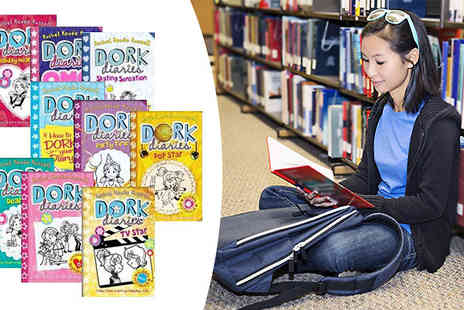 Snazal - Dork Diaries Rachel Renee Russell 9 Book Collection - Save 60%