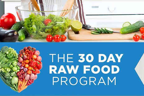Centre of Excellence Online - 30 Day Ultimate Raw Food Online Programme - Save 85%