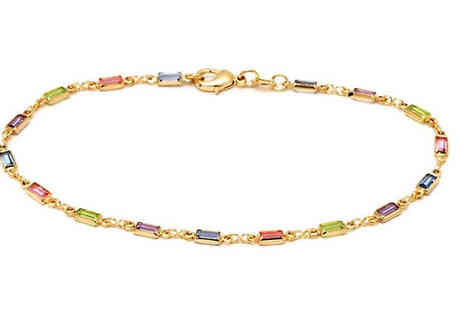 Marcus Emporium - Multi Coloured Anklet - Save 84%