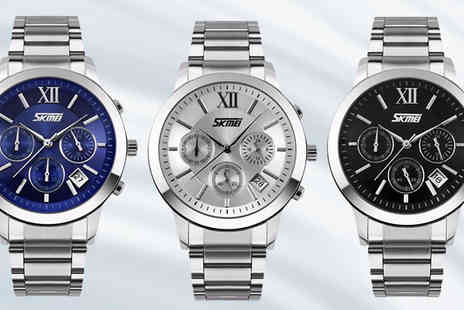 Simply Products - Mens Luxury Quartz Watch in 3 Colours - Save 78%