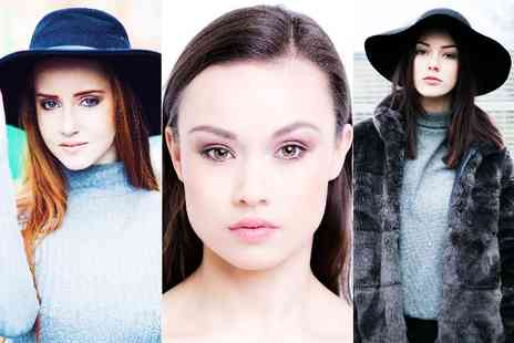 The Model Experience - Modelling photoshoot, headshots & a prints package which includes a beautifying makeover - Save 92%