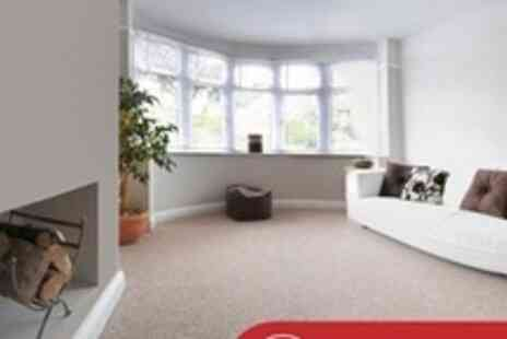 Crystal Clean - Carpet Cleaning For Three Rooms - Save 68%