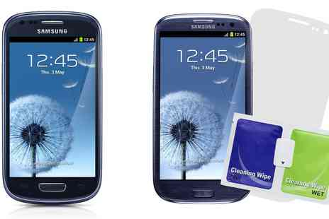 Groupon Goods Global GmbH - Vodafone Original Samsung Galaxy S3 Mini VE PAYG Handset with Caseit Screen Protector With Free Delivery - Save 0%