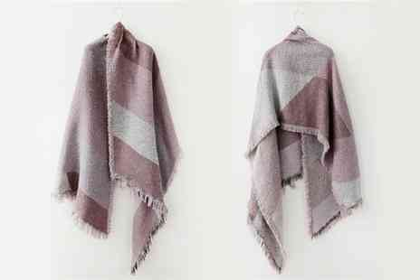 Groupon Goods Global GmbH - One or Two Oversized Fashion Scarves - Save 75%