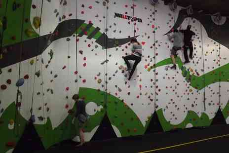 Golden Gecko - Two hour Introduction and Climbing Session on the Challenge Wall for One or Two - Save 0%