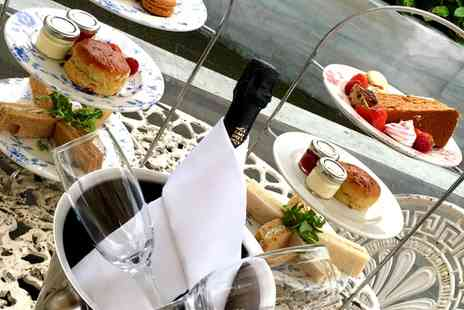 The Parlour - Afternoon Tea with a Bottle of Prosecco or Two Cocktails Each for Two - Save 51%