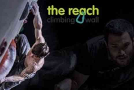 The Reach - 90 Minute Beginners Rock Climbing Taster Session - Save 52%