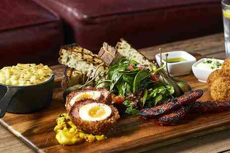 The Captain Cook - Two Course Brunch with Bottomless Prosecco for Two or Four - Save 64%