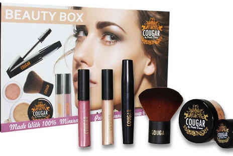 Cougar Beauty Products - Six Piece Beauty Box in 2 Shades - Save 64%