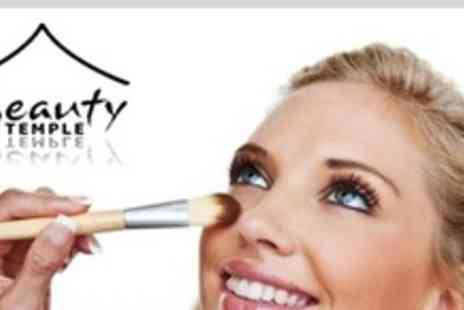Beauty Temple - Make Up Lesson For Two - Save 76%