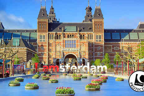 Deluxe Breaks - Two to three night Amsterdam Hotel and Flights - Save 60%