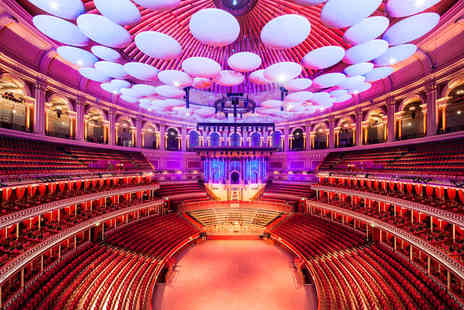 Royal Albert Hall - Grand Tour and Three Course Lunch with Wine for Two - Save 0%