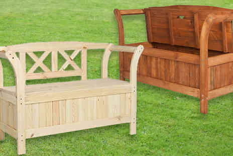 Master of Trading - Versatile Garden Storage Bench in 2 Colours - Save 0%