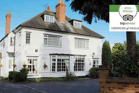 Charnwood Lodge - One or two Night Stay For Two With Breakfast - Save 38%
