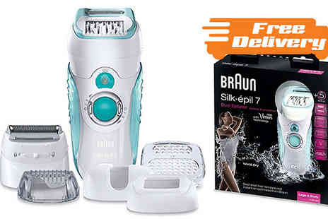 AMS Global - Braun Silk epil Wet and Dry Epilator plus Free Delivery - Save 0%